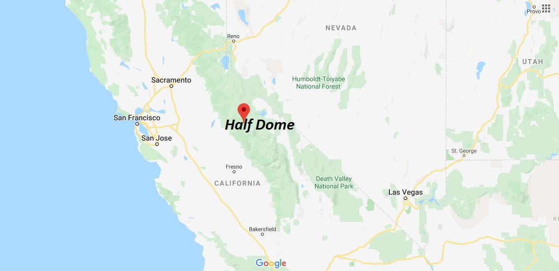 Where is Half Dome Located? How long does it take to walk up Half Dome?