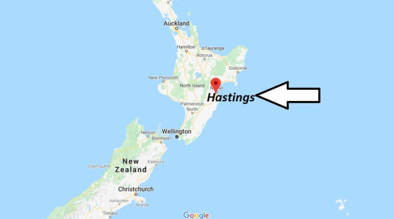 Where is Hastings Located? What Country is Hastings in? Hastings Map