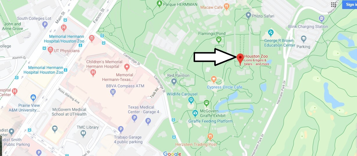 Where is Houston Zoo? How much is the Houston Zoo Worth?