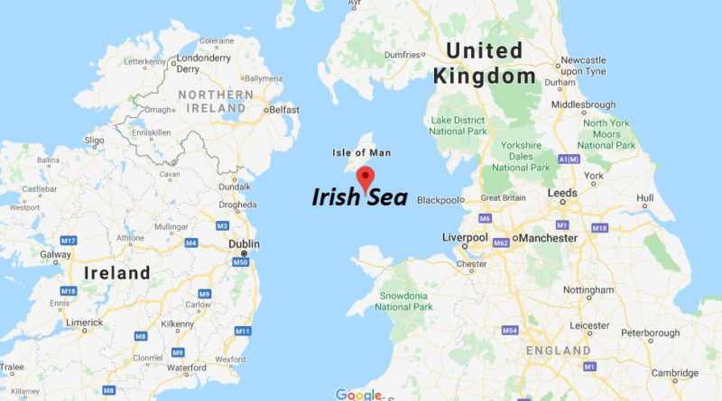 Where is Irish Sea? Where does the Irish Sea start and end?