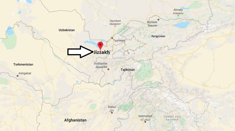 Where is Jizzakh Located? What Country is Jizzakh in? Jizzakh Map