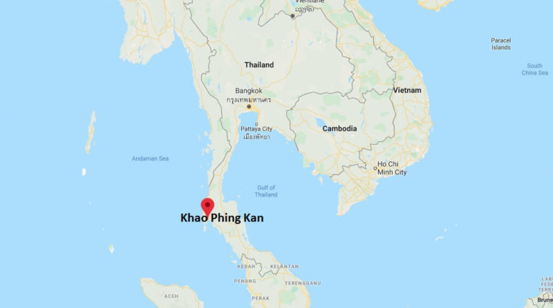 Where is Khao Phing Kan Located? What Country is Khao Phing Kan in? Khao Phing Kan Map