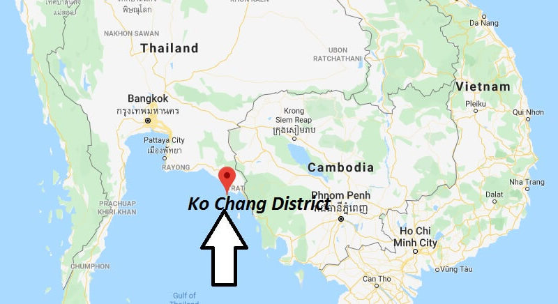 Where is Ko Chang District Located? What Country is Ko Chang District in? Ko Chang District Map