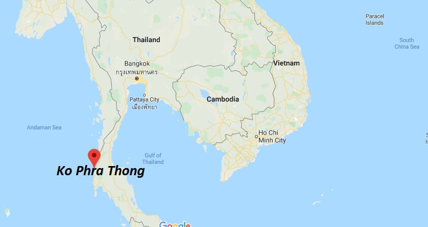 Where is Ko Phra Thong Located? What Country is Ko Phra Thong in? Ko Phra Thong Map