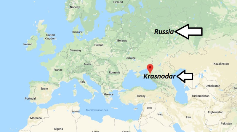Where is Krasnodar Located? What Country is Krasnodar in? Krasnodar Map