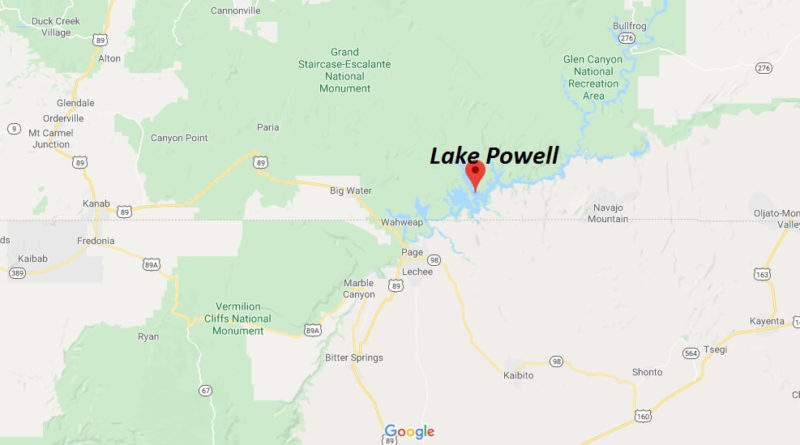 Where is Lake Powell Located? What city is Lake Powell in?