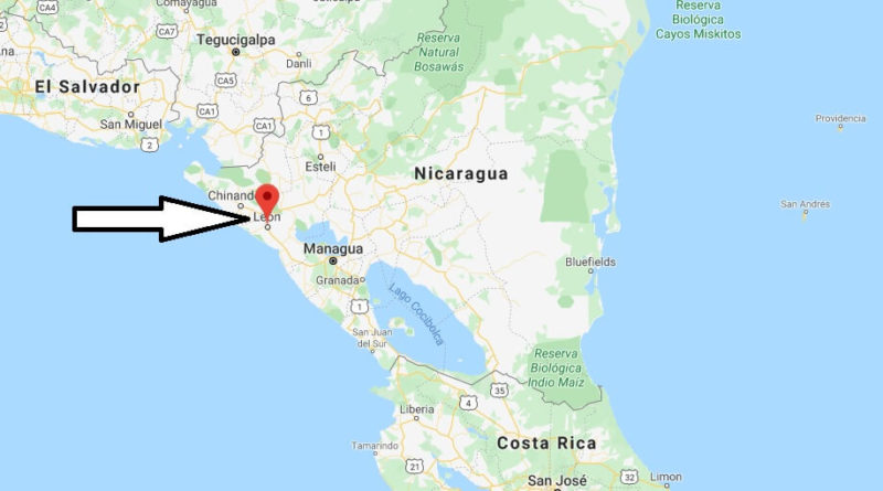 Where is León, Nicaragua Located? What Country is León in? León Map