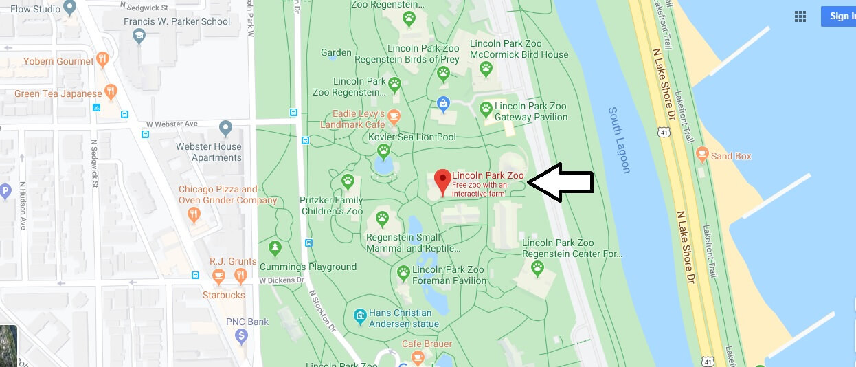 Where is Lincoln Park Zoo? Is Lincoln Park Zoo free?