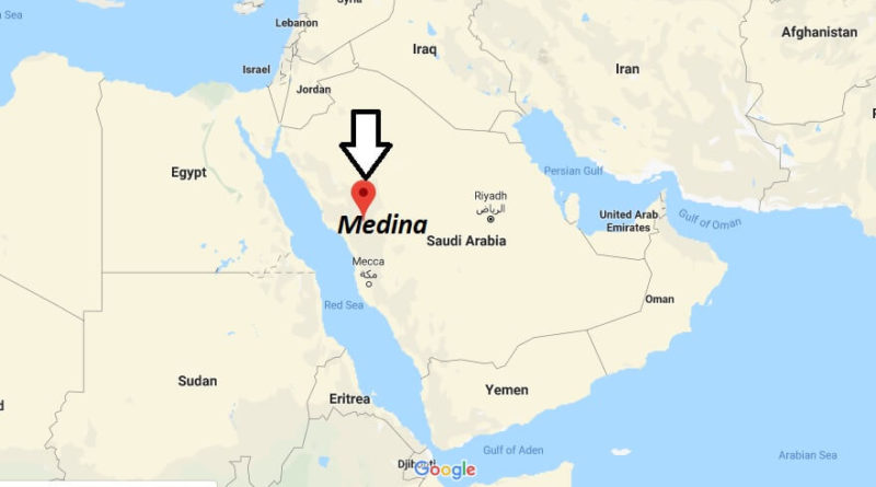 Where is Medina Located? What Country is Medina in? Medina Map