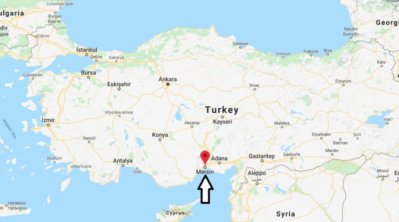 Where is Mersin Located? What Country is Mersin in? Mersin Map