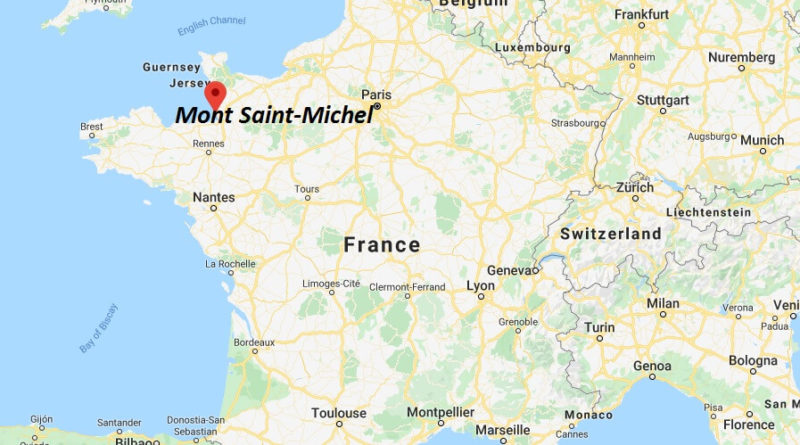 Where is Mont Saint-Michel Located? What Country is Mont Saint-Michel in? Mont Saint-Michel Map