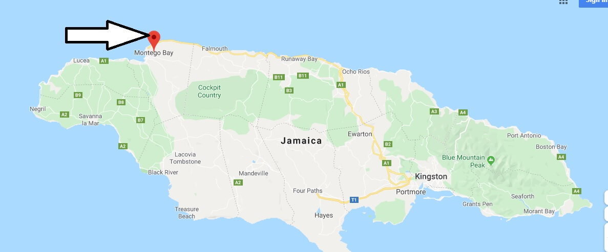 Where is Montego Bay Located? What Country is Montego Bay in? Montego Bay Map