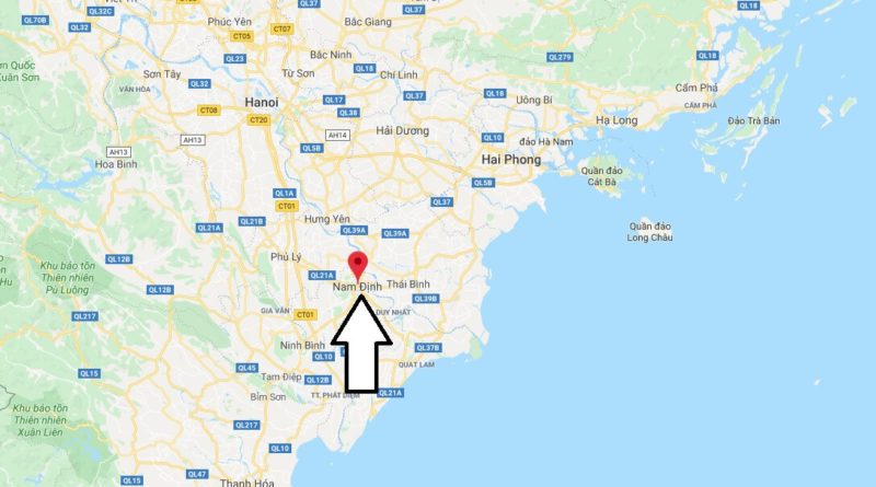Where is Nam Định Located? What Country is Nam Định in? Nam Định Map