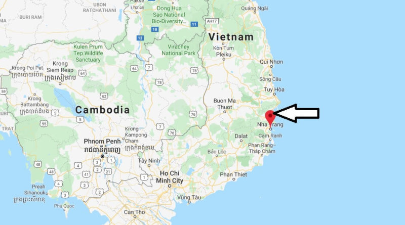 Where is Nha Trang Located? What Country is Nha Trang in? Nha Trang Map
