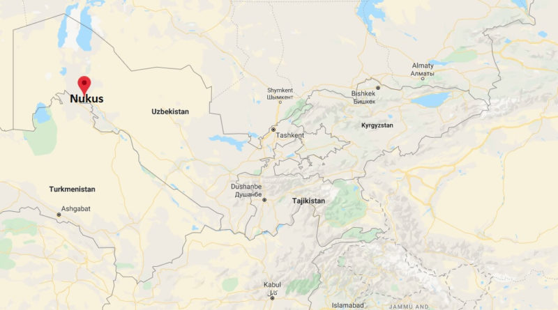 Where is Nukus Located? What Country is Nukus in? Nukus Map