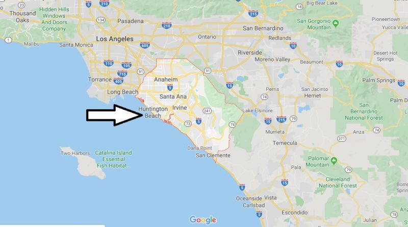 Where is Orange County Located? What Country is Orange County in? Orange County Map