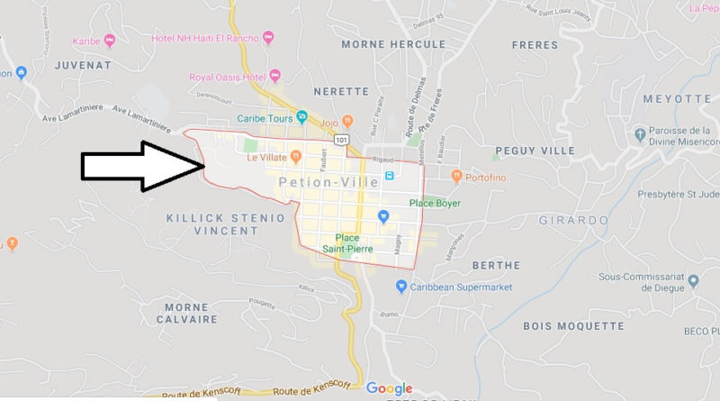 Where is Pétion-Ville Located? What Country is Pétion-Ville in? Pétion-Ville Map