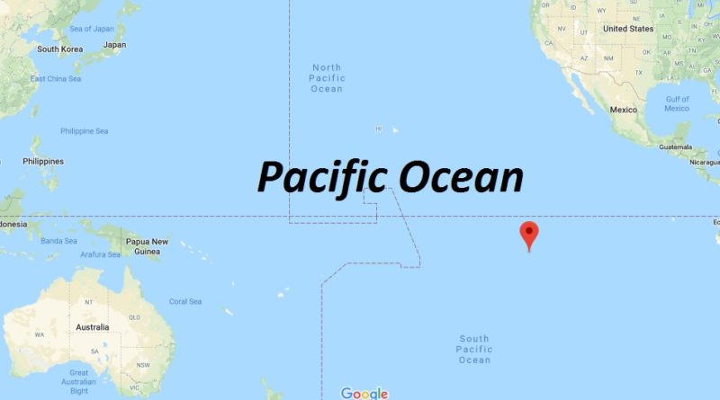 Where is Pacific Ocean? What country is in the Pacific Ocean?