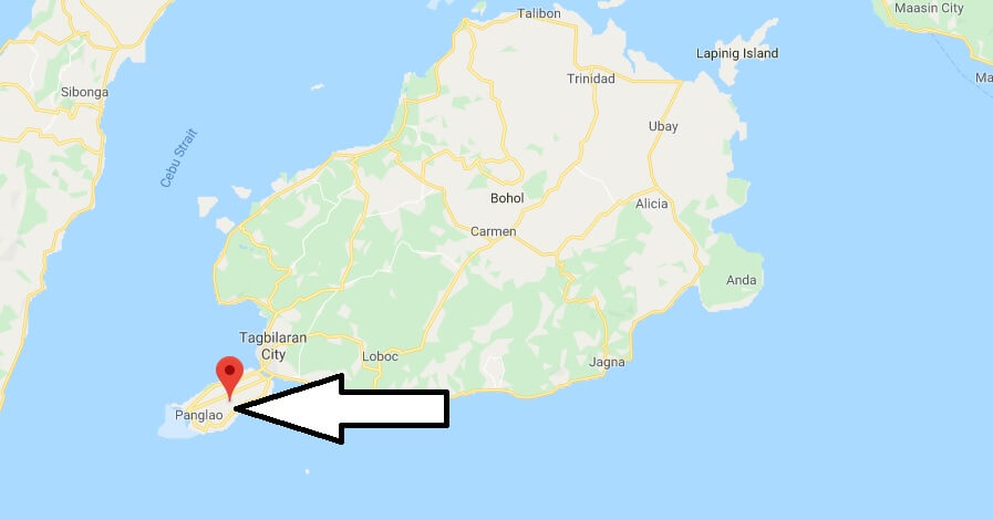 Where is Panglao Island Located? What Country is Panglao Island in? Panglao Island Map