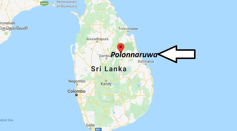 Where is Polonnaruwa Located? What Country is Polonnaruwa in? Polonnaruwa Map