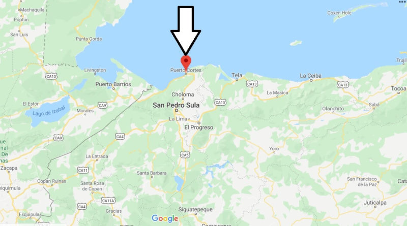 Where is Puerto Cortes Located? What Country is Puerto Cortes in? Puerto Cortes Map