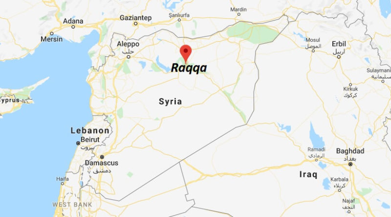 Where is Raqqa Located? What Country is Raqqa in? Raqqa Map