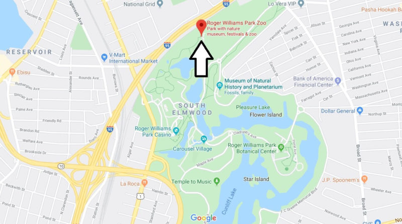 Where is Roger Williams Park Zoo? How much does it cost to go to Roger Williams Zoo?