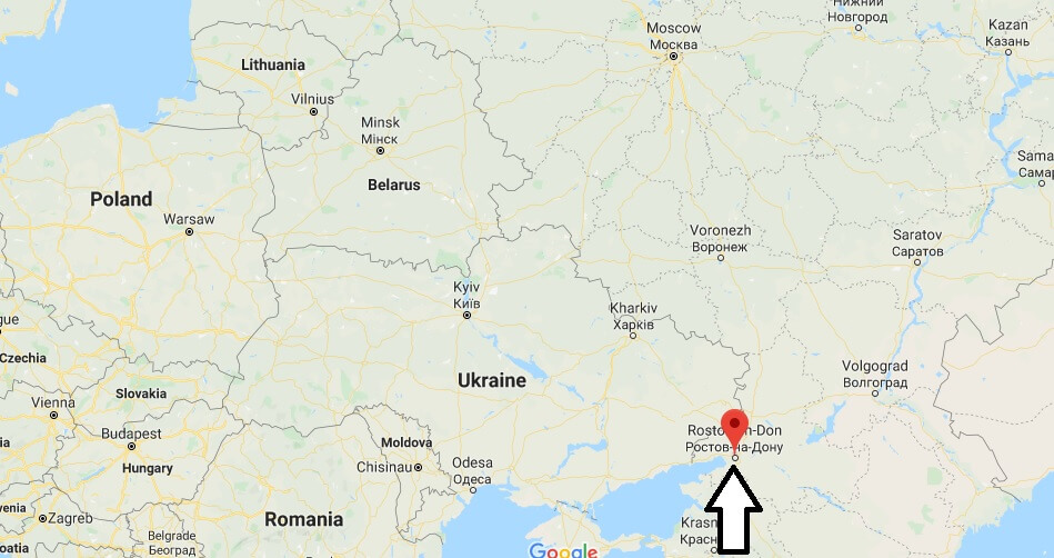 Where is Rostov-na-Donu Located? What Country is Rostov-na-Donu in? Rostov-na-Donu Map