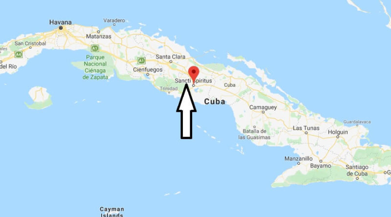 Where is Sancti Spiritus Located? What Country is Sancti Spiritus in? Sancti Spiritus Map
