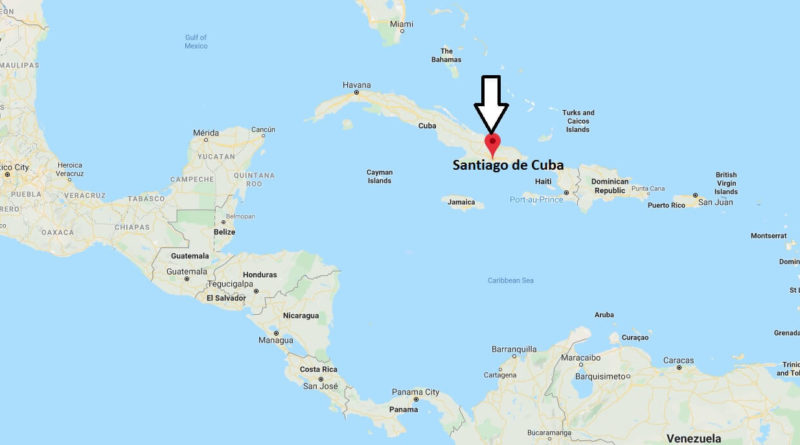 Where is Santiago de Cuba Located? What Country is Santiago de Cuba in? Santiago de Cuba Map