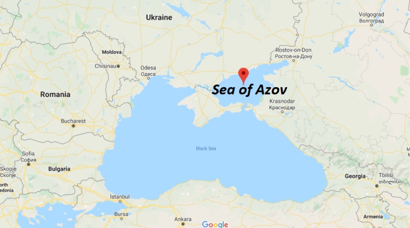 Where is Sea of Azov - Is Sea of Azov international waters
