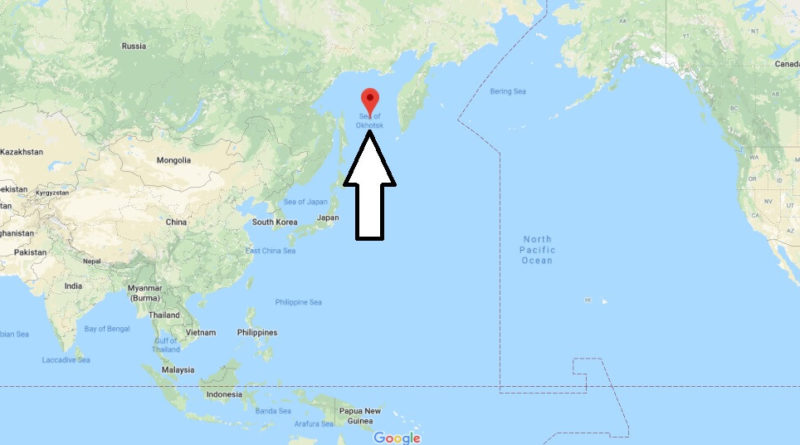 Where is Sea of Okhotsk? Which country borders the Sea of Okhotsk?