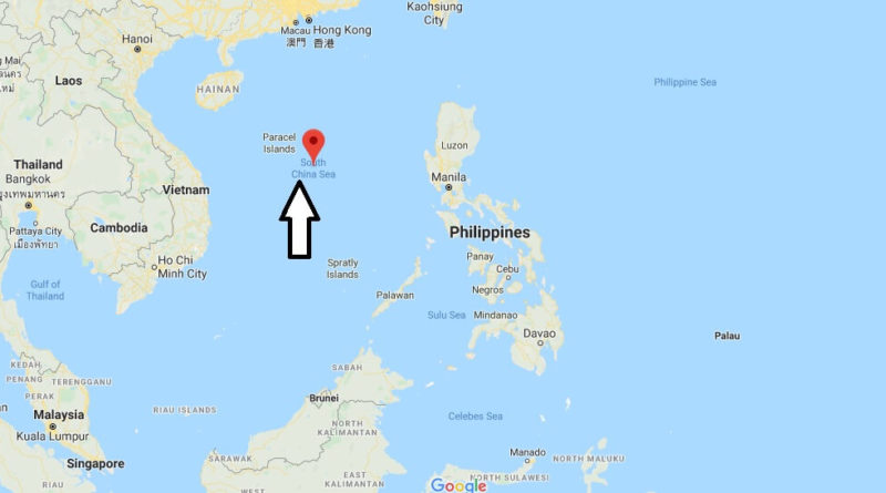 Where is South China Sea? What countries are in the South China Sea