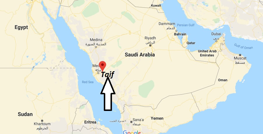 Where is Taif Located? What Country is Taif in? Taif Map