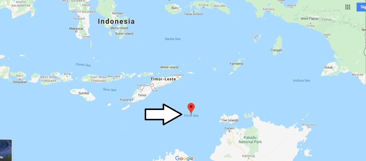 Where is Timor Sea? What ocean is Timor Leste in?