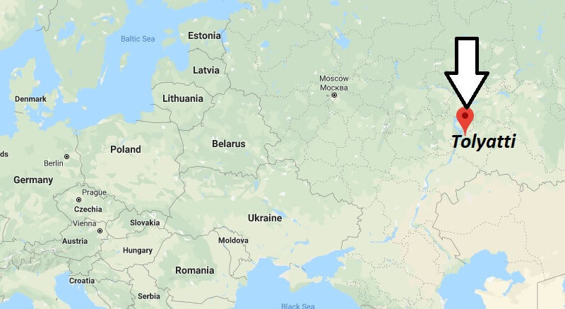 Where is Tolyatti Located? What Country is Tolyatti in? Tolyatti Map