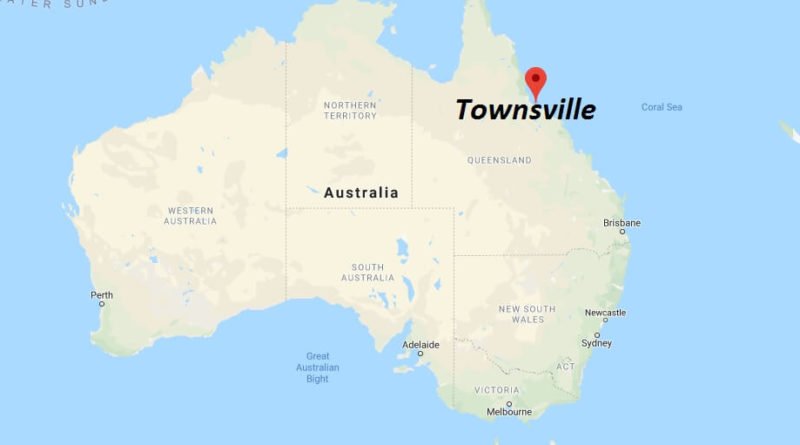 Where is Townsville Located? What Country is Townsville in? Townsville Map