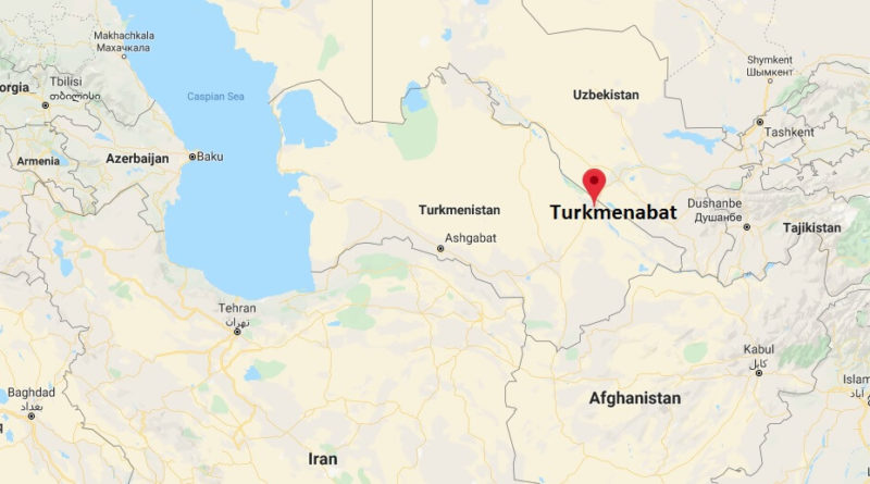 Where is Turkmenabat Located? What Country is Turkmenabat in? Turkmenabat Map