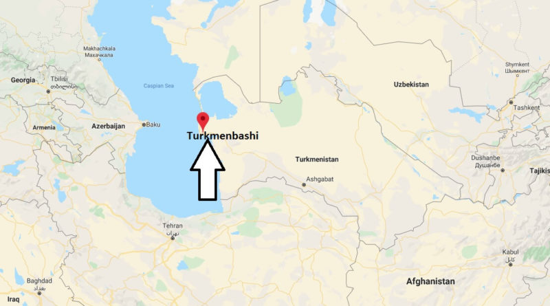 Where is Turkmenbashi Located? What Country is Turkmenbashi in? Turkmenbashi Map