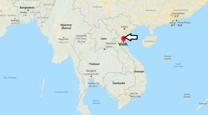 Where is Vinh Located? What Country is Vinh in? Vinh Map