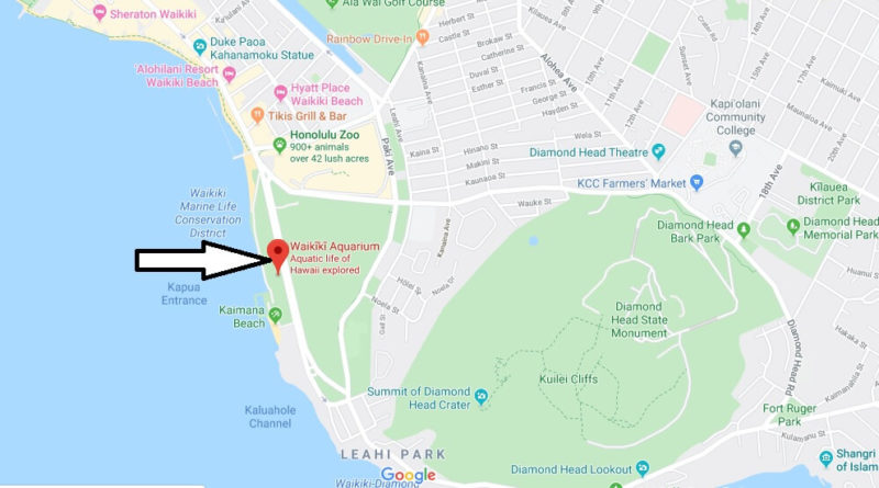 Where is Waikiki Aquarium? How much does it cost to go to the Waikiki Aquarium?