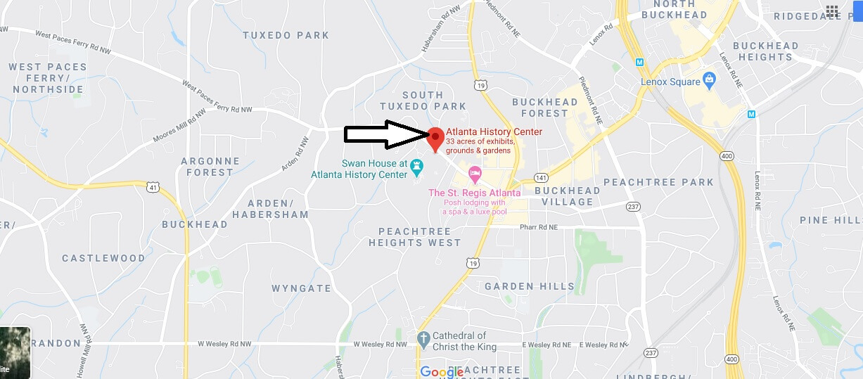 Where is Atlanta History Center? What happened to the Cyclorama in Atlanta?
