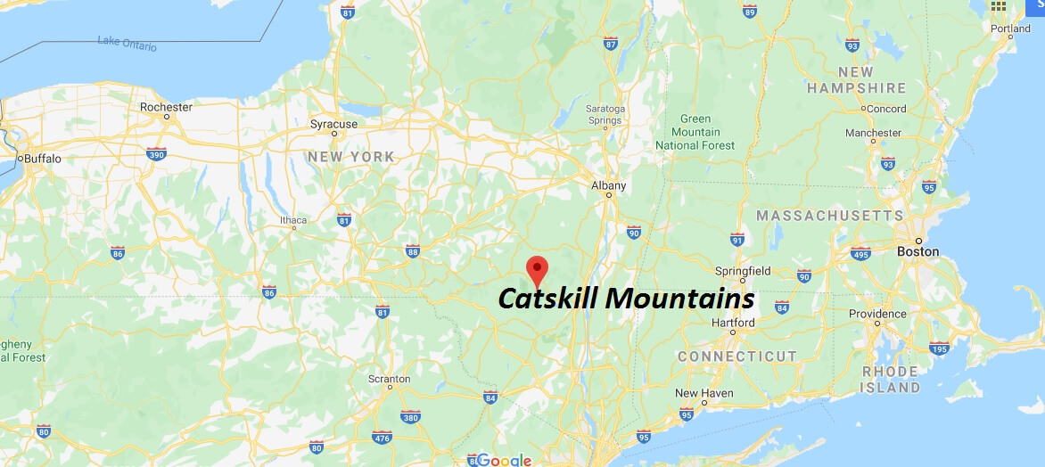 Where is Catskill Mountains? What towns are in the Catskill Mountains?