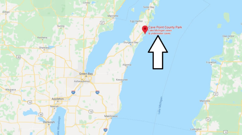 Where is Cave Point County Park?