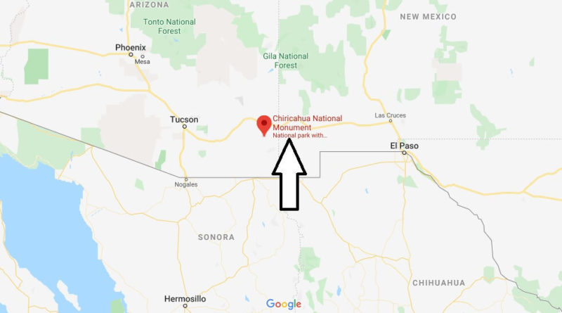 Where is Chiricahua National Monument? How do you get to Chiricahua National Monument?