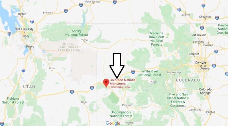 Where is Colorado National Monument? Can you drive through Colorado National Monument?