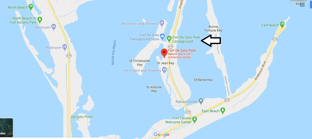 Where is Fort De Soto Park? How much does it cost to get into Fort Desoto Park?