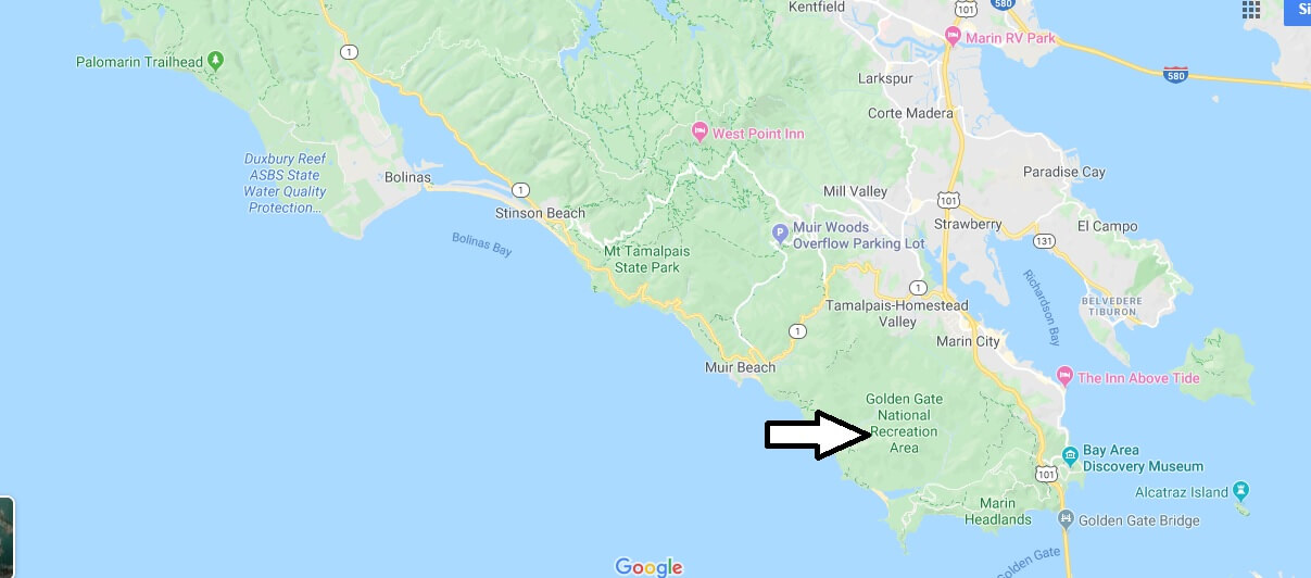 Where is Golden Gate National Recreation Area? Is Golden Gate National Recreation Area open?