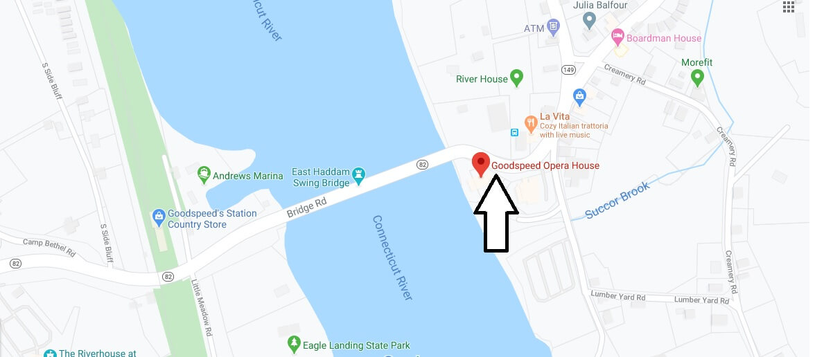 Where is Goodspeed Opera House? What is playing at the Goodspeed Opera House?
