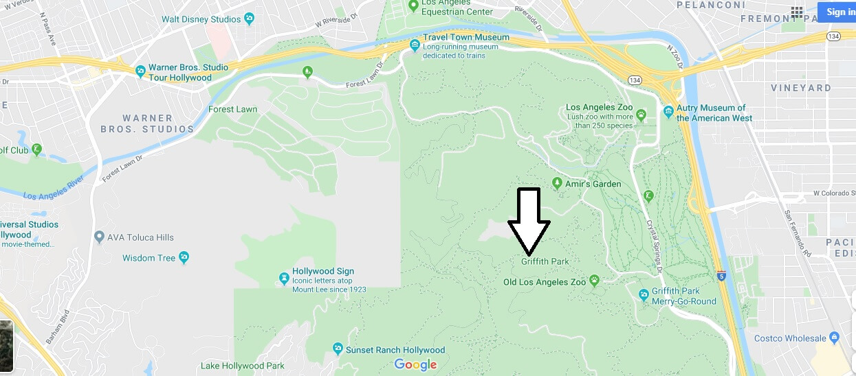 Where is Griffith Park? What is Griffith Park famous for?